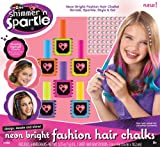 #10: Shimmer & Sparkle Chalk and Style Hair Flair, Multi Color