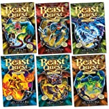 Beast Quest : Series 11 Pack, 6 books, RRP £29.94 (Elko; Tarrok; Brutus; Flaymar; Serpio; Tauron).