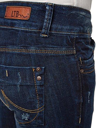 LTB Jeans Damen Jeanshose/ Lang 5065 / Molly Röhre, Skinny / Slim Fit (Röhre) (Weitere Farben) Dunkelblau