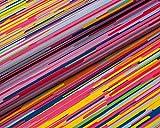 Modische Druckmotive im digitalen Direktdruck, 0,50 lfm