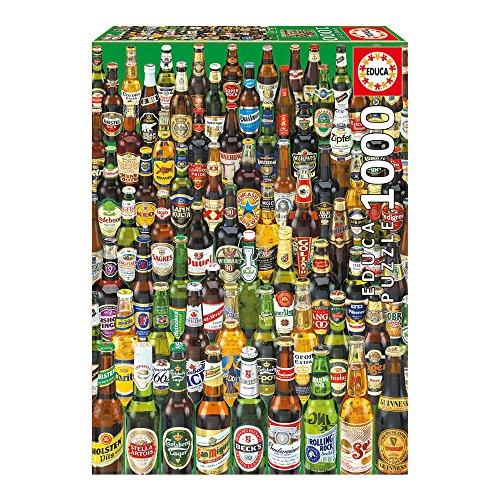 Bier Teilen (Educa 12736 - Puzzle - Biere, 1000-Teilig)