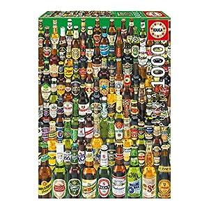 Educa Borrás- Colección de Cervezas Puzzle, 1000 Piezas (12736)