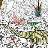 Nappe Eggnogg - Affiche à colorier - Thèmes variés Dinosaures