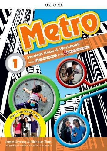 Metro: Level 1: Student Book and Workbook Pack por Nicholas Tims