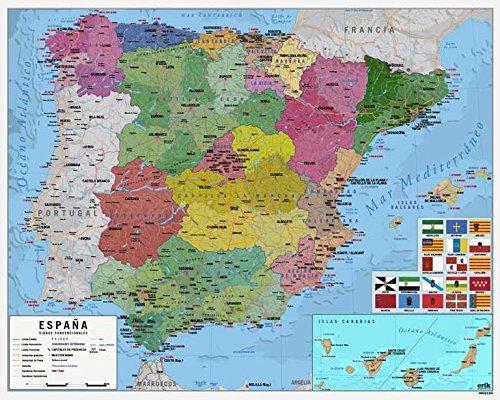 Grupo Erik Editores MPGE0219 - Mini póster mapa España