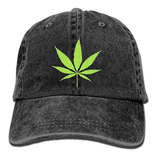 Presock Adults Green Weeds Adjustable Casual Cool Baseball Cap Retro Cowboy Hat Cotton Dyed ()
