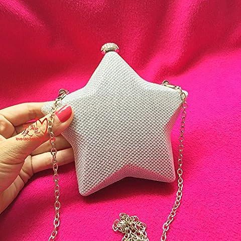 Cena di moda sacca incrostato Mini Star purse size: l 14cm* h 12cm* 5cm