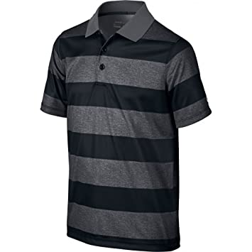 93e8b6ab15c Nike Boys  Bold Stripe Polo Shirt Short Sleeve T-Shirt  Amazon.co.uk  Sports    Outdoors