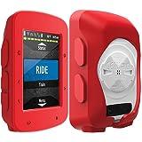 TUSITA Funda Compatible con Garmin Edge 520 Plus - Cubierta Protectora de Silicona - Accesorios de Computadora para Bicicleta