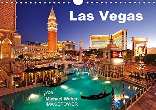 Las Vegas (Wandkalender 2019 DIN A4 quer): Las Vegas - Glitzermetropole und Spielerparadies in Nevada, USA (Monatskalender, 14 Seiten ) (CALVENDO Orte)