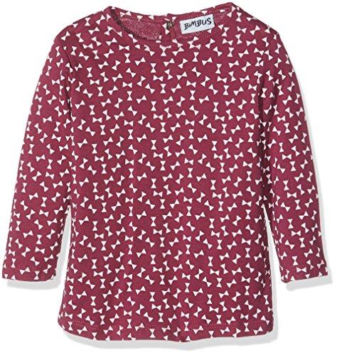 BIMBUS T-Shirt M/L Jersey Fantasia CT, Maglietta Bimba, Ciclamino 04, 9M