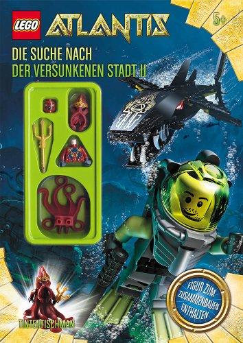 Universal Trends Lego UC21194E - Atlantis Beschäftigungsbuch 2