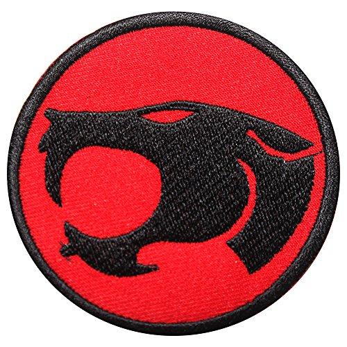 Thundercats Retro Eisen auf bestickt Patch 2027Fancy Kleid Kostüm T Shirt Tasche Jacke Badge