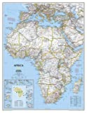 National Geographic Map Africa Political, Enlarged, Planokarte - National Geographic Maps