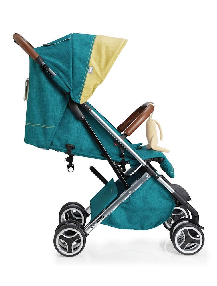 Cosatto Woosh XL Pushchair, Suitable from Birth to 25 kg, Hop to It Cosatto Compact from-birth pushchair. carries up to 25kg child, so you can use it for longer. Hands full? it's lightweight with one-hand fold into compact bundle. easy to store. It can even carry dock 0+ car seat (sold sep) just pop onto the adaptors (sold sep). 4