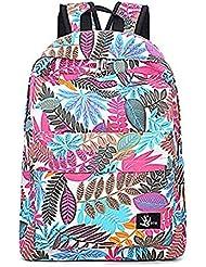 Oripo - Bolso mochila  de Lona para mujer