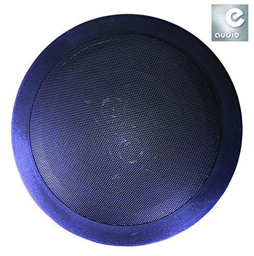 e-audio-haut-parleur-avec-deux-tweeters-pour-plafond-et-mur-noir-rond-2-x-8-ohms-120-w-165-cm