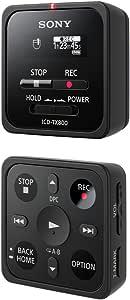 Sony Icd Tx800 Ultrakompaktes Digitales Diktiergerät 16gb Fernbedienungsfunktion Oled Display Bis Zu 15 Stunden Aufnahmezeit Schwarz Bürobedarf Schreibwaren