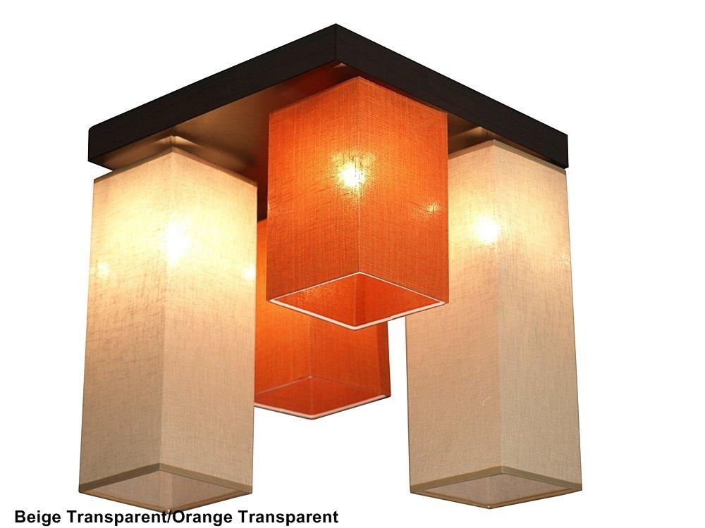 Deckenlampe Deckenleuchte Leuchte Murcja-026D Holz ...