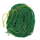 SUPEWOLD Garten-Spalier aus Nylon Klettergerüst Netz Kletterpflanzen Netze zur Unterstützung von Gemüse und Obst, Bohnen, Gurken