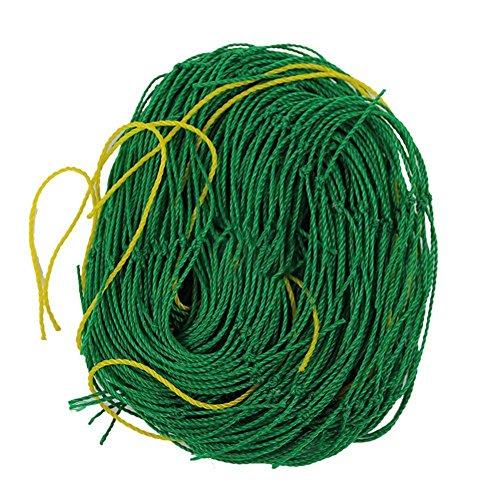 Favolook Rankgitternetz für den Einsatz im Garten, Nylon, für Kletterpflanzen, Reben und Gemüse