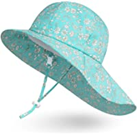 Ami&Li Bambino Cappello Collo Protezione Bambini Cotone UPF 50 Cappello da Sole Ragazza Ragazzo Infantile
