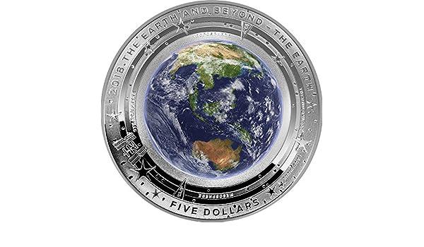 Earth Erde Welt Beyond 1 Oz Silber Münze 5 Australia 2018 Amazon