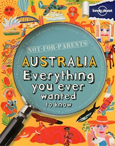 Not For Parents Australia - 1ed - Anglais
