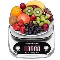 himaly 10kg/1g Balances de Cuisine Alimentaire Electronique Haute Précision Ecran LCD Rétroéclairé pour Cuisine Précise…