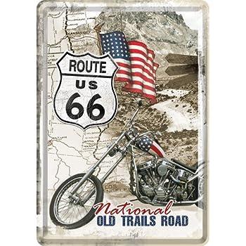 Nostalgic Art Liberty Feriheitsstatuhe USA Blechpostkarte 14 x 10 cm