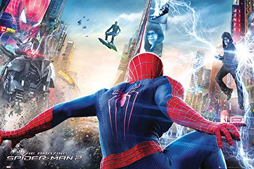 empireposter-spiderman-the-amazing-spiderman-2-attack-grosse-cm-ca-915x61-poster