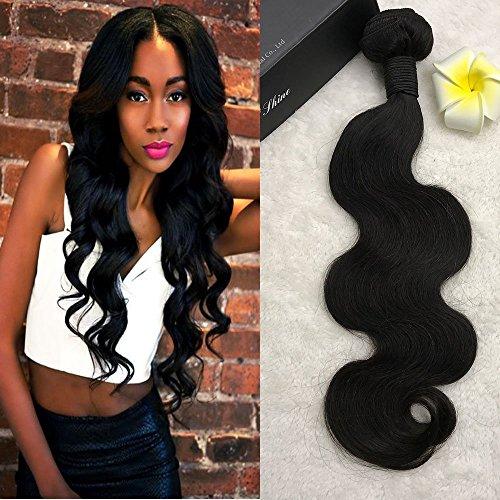 Full Shine 26 Pouce/65cm Onde de Corps Virgin Hair Extensions Brésiliennes Remy Weave Bundles Grade 7A Afro Weave Pour les Femmes Noires