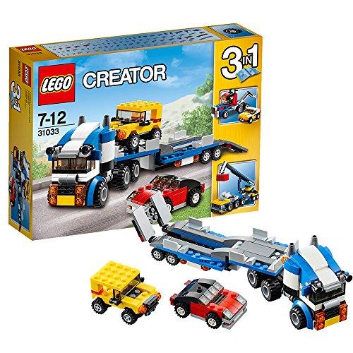 LEGO- Trnasporte de Autos Transporte de vehículos,, 53.6 x 27.9 x 8.9 (31033)