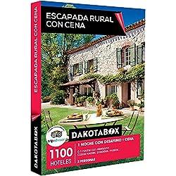 DAKOTABOX - Caja Regalo - ESCAPADA RURAL CON CENA - 1100 hoteles como casas rurales, posadas y masías en España, Francia, Portugal o Italia