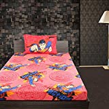 BED LINEN SUPERMAN SINGLE- 9750172 - RED