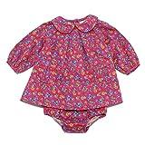 Ralph Lauren 0432W Vestito Bimba floral pink Cotton Dress Kid Girl [6 Months]