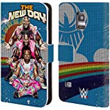 Official WWE The New Day Superstars Leather Book Wallet Case Cover For Samsung Galaxy S5 mini
