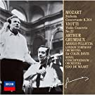 Mozart:Sinfonia Concertante [Import allemand]