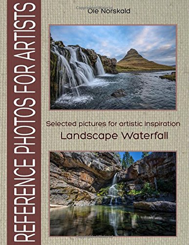 Reference Photos for Artists: Selected pictures for artistic inspiration: Landscape Waterfall