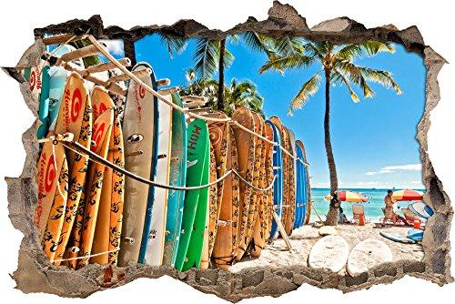 molti tavole da surf muro passo avanti nel look 3D, parete o in formato adesivo porta: 62x42cm, autoadesivi della parete, autoadesivo della parete, decorazione della parete