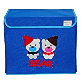 UberLyfe Kids Toy Storage Box - Blue Col...