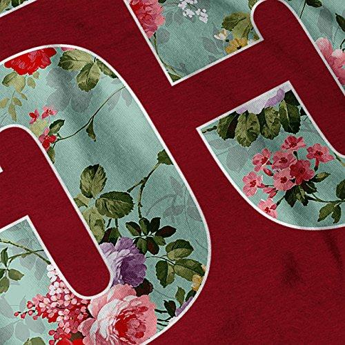 Nummer 55 Zitat Slogan Wild Pflanze Damen S-2XL Muskelshirt | Wellcoda Rot