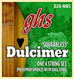 Ghs 20-mBS dulcimer mixolydian tunning squeakless string