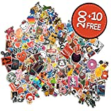 Sticker Pack [210 Pcs] Graffiti Stickers Decals Vinyls for Laptop, Children, Car, Motorcycle, Bicycle Hippie Luggage Skateboard Laptop Car Bumper Sticker