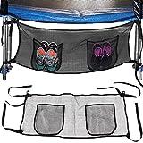 Deuba® Aufbewahrungstasche Trampolin 111x45 ✔ UV- und witterungsbeständig ✔ schnelle Montage ✔ 2 Taschen - Schuhtasche Beutel Zubehör