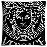 Zippered Comfort versace Polyester * Cotton Home Pillow Protectors Case Environmentally 16x16 inch 40x40 cm