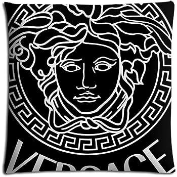 Mini Medusa T?te grecque d?coration murale image en relief or blanc 7?cm serpent poster