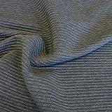 TOLKO Designer Jersey-Stoff in Cord-Optik als Meterware -