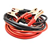Woschmann - 100% Copper Battery Jumper Cables 4 Gauge 500AMP Heavy Duty Booster Cables with Carry Bag(Only for Petrol/CNG Cars)