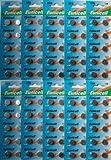 100 X AG13 LR44 L1154 357 A76 SR44 G13 High Quality Button Batteries